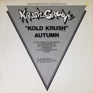 Autumn 'Kold Krush' record sleeve