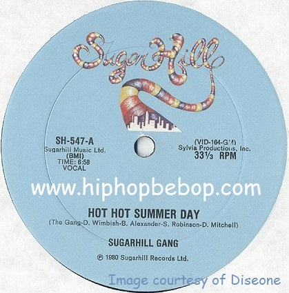 Sugar Hill Gang Hot Hot Summer Day Long Version