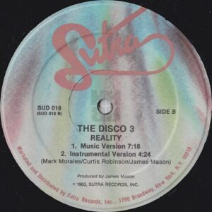 Disco 3 aka The Fat Boys