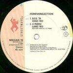 """Forevereaction B.E.D. '34 12"""" single record label"""