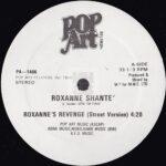 "Roxanne Shante - Roxanne's revenge first pressing 12"" label"