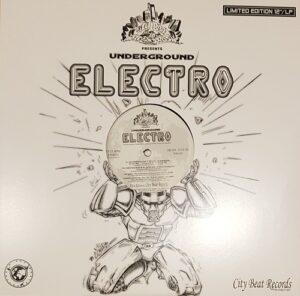 New school electro album on City Beat Records out of Germany - Underground Electro 2018 colour vinyl