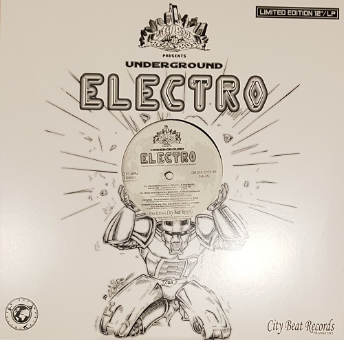 New school electro album on City Beat Records out of Germany - Underground Electro 2018 colour vinyl
