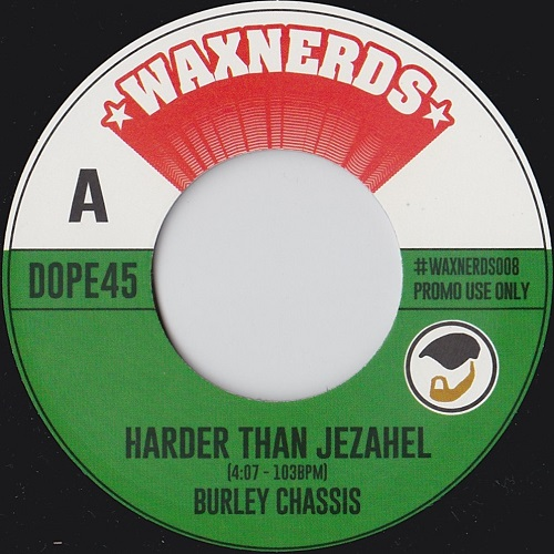 """Waxnerds again with a 7"""" release and mix of Public Enemy's Harder Than You Think and the original sample by Shirley Bassey called Jezahel"""