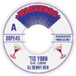 "Waxnerds 7"" single with a remix of T La Rock's It's Yours by DJ Benny Ben"
