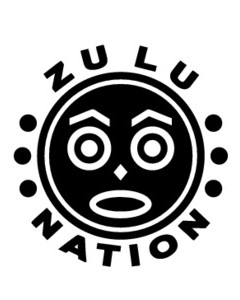 Universal Zulu Nation original logo as founded by Afrika Bambaataa