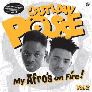 Previously unreleased UK hip hop album from 1992 by Outlaw posse from UK - My afro's on fire Volume 2 on black vinyl