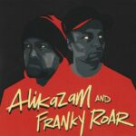 "Alikazam & Franky Roar - This is where we dwell 7"" front"