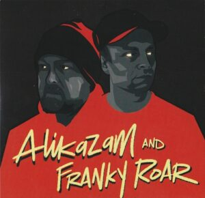 """Alikazam & Franky Roar - This is where we dwell 7"""" front"""