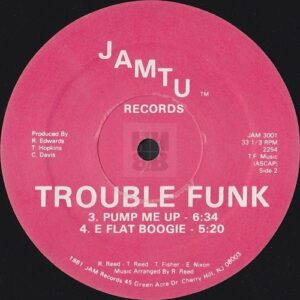 Trouble Funk - Holly Rock EP on Jamtu Records side A