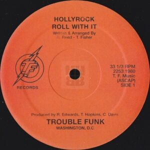 Trouble Funk - Holly Rock EP on TF Records side B