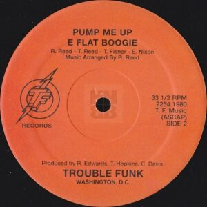 Trouble Funk - Holly Rock EP on TF Records side A