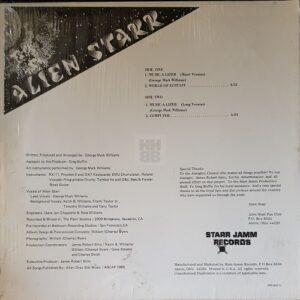 """Alien Starr - World of Ecstasy 12"""" back sleeve"""