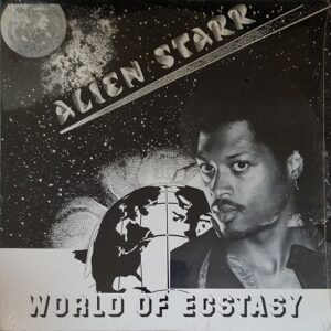 "Alien Starr - World of Ecstasy 12"" front sleeve"