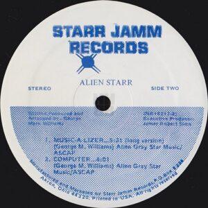 """Alien Starr 12"""" side B label"""