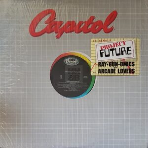 "Project Future - Ray-gun-omics 12"" in company sleeve with hype sticker"