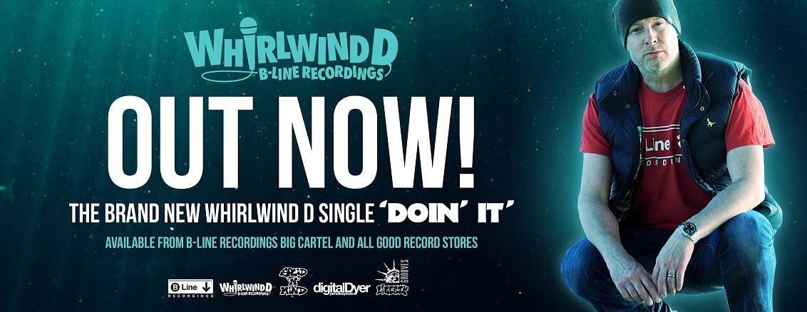 "Advert for the new Whirlwind D 7"" single"