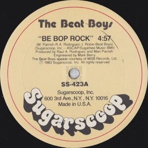"The Beat Boys - Be Bop Rock 12"" side A"