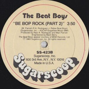 "The Beat Boys - Be Bop Rock 12"" side B"