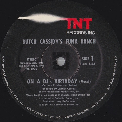 Butch Cassidy's Funk Bunch