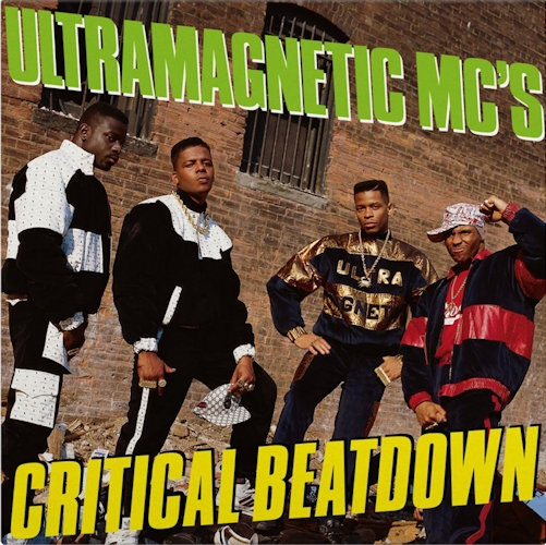 Ultramagnetic MC's - Critical Beatdown (2xLP Yellow Vinyl Reissue) [Music On Vinyl 2021]