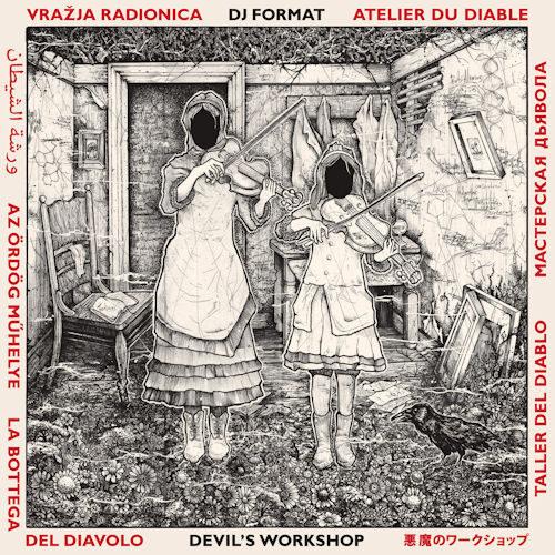 DJ Format - Devil's Workshop (LP/CD) [Project Blue Book 2021]