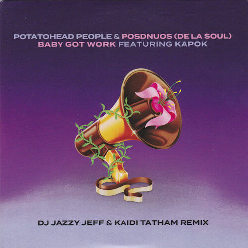 "Potatohead People & Posdnuos - Baby Got Work (feat. Kapok) (7"") [Bastard Jazz 2021]"